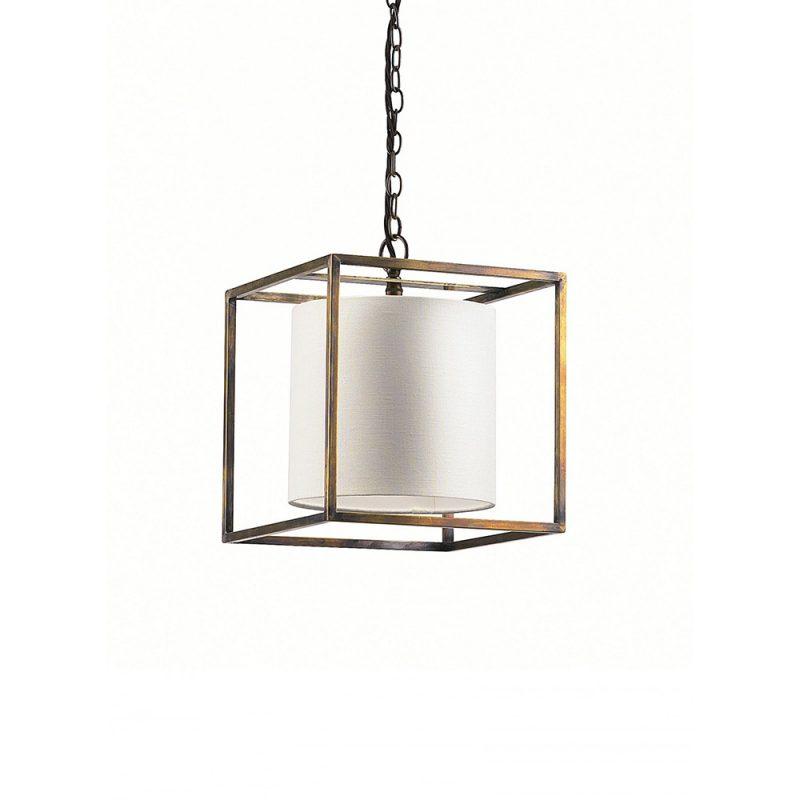 Derwent Antique Brass Cube (Small)