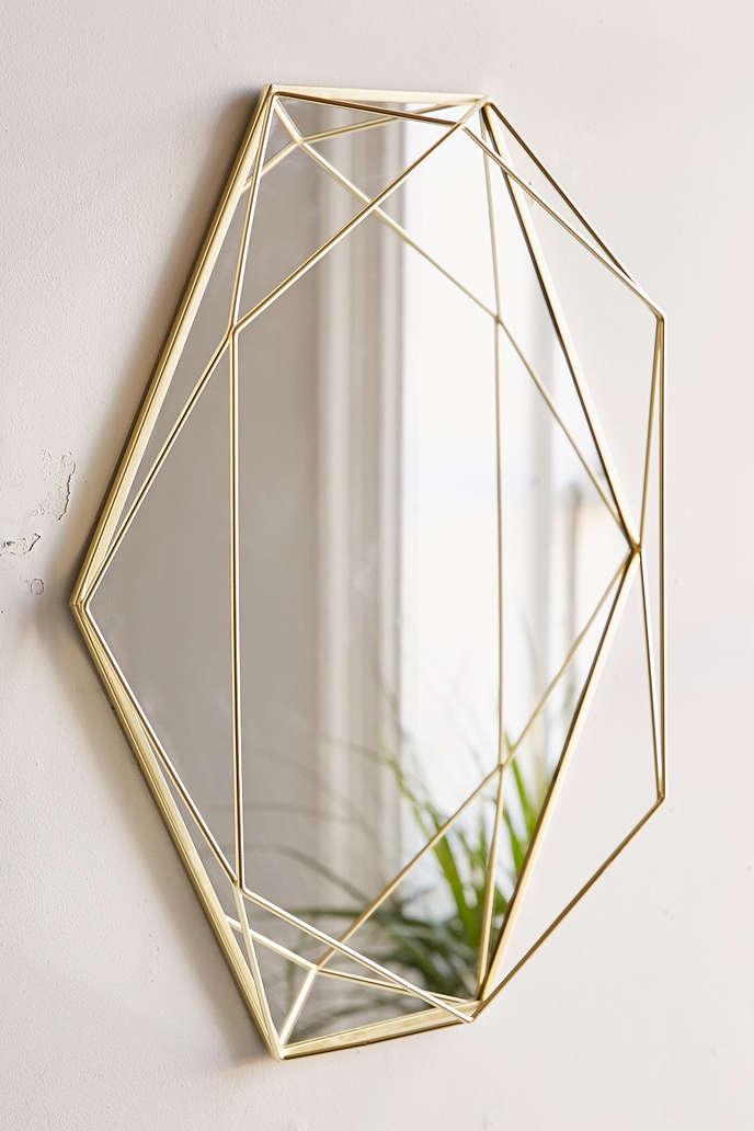 Prisma Mirror Brass Innovative Home Solutions