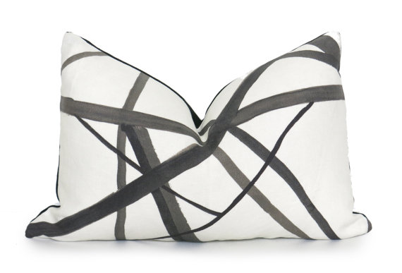 bookmark htm pillow graffito pillows cream wearstler black kelly abstract