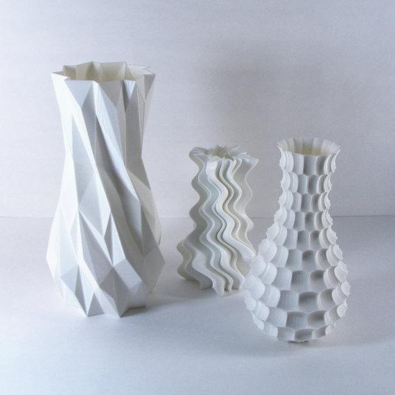 Modern Funky Vases Gift Pack Set Of 3 Innovative Home Solutions